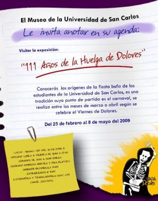 Exposición: Huelga de dolores 2009