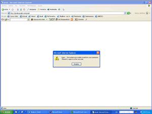 Oops...    Problemas en Gmail.com